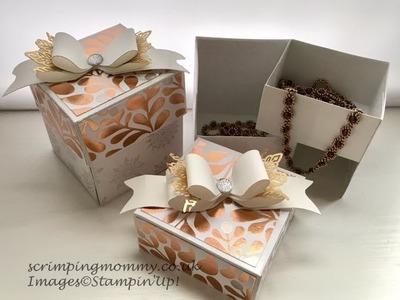 Elegant double box in a box
