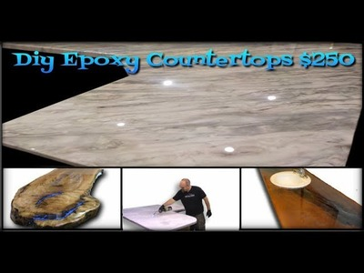 Epoxy countertops, What will you create today?