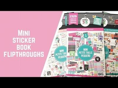 Flip through of new MOM mini sticker book!