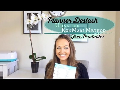 Free Printable! + Planner Destash Using the KonMari Method