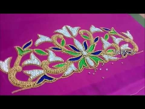 Hand Embroidery Tutorial For Beginners Hand Embroidery Designs