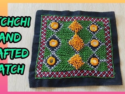 Handcrafted patch katchchi make at home.how to make kachchi handcrafted patch.