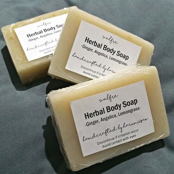 Herbal Body Soap with Menthol & Vit E