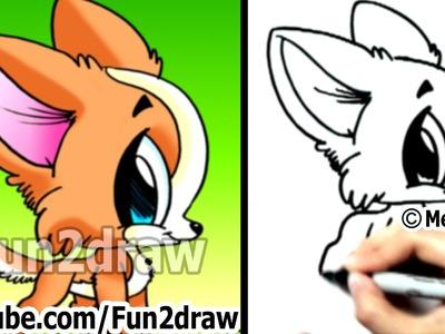 How to Draw a Dog - Chihuahua Puppy - Fun Things to Draw - Cute Art - Fun2draw