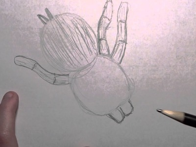 How to draw a Tarantula