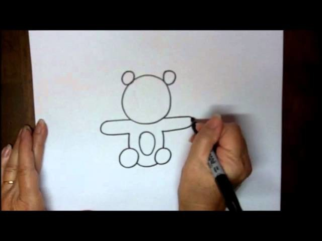 How to Draw a Teddy Bear Step by Step Easy Tutorial