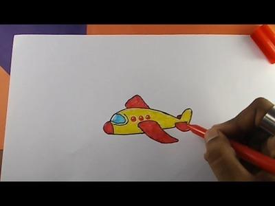 How to Draw Aeroplane