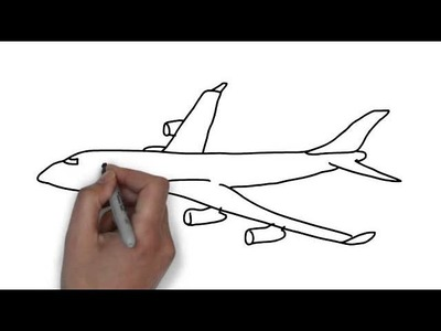 How To Draw Plane