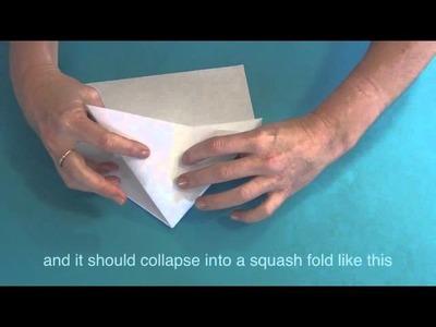 How to make a mantis paper plane