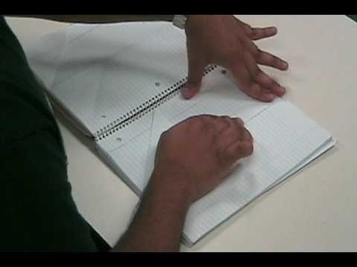 How to make a notebook divider