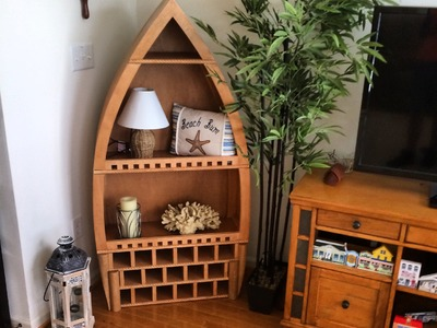 How to make a wine rack boat