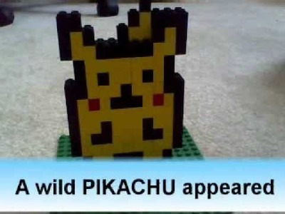 How to Make Lego Pikachu and Pokeball