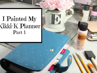 I Painted My Planner | part 1