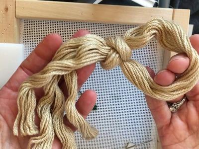 Intro to Needlepoint - Part 2