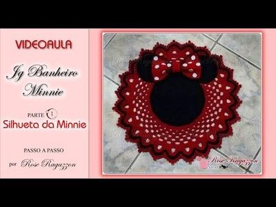 JG MINNIE - TAPETE  PARTE 1 - SILHUETA DA MINNIE ♥ Rose Ragazzon