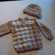 Jumper and hat set