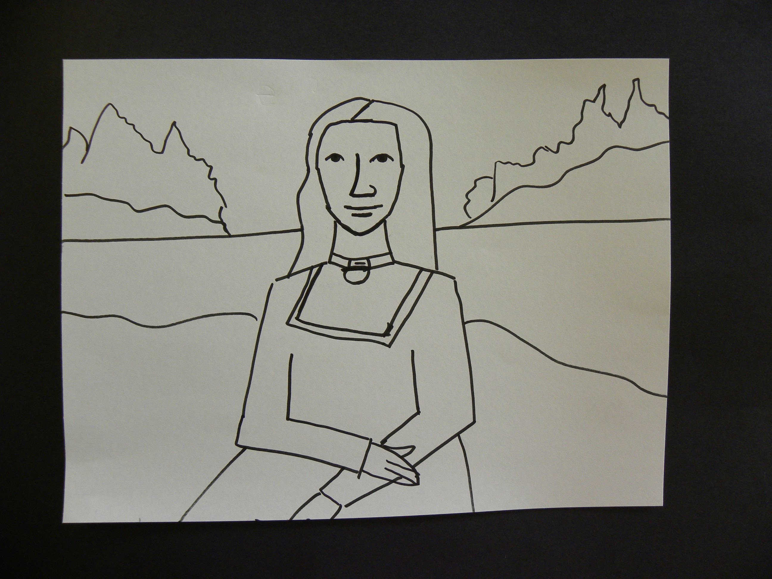 Kids Can Draw: Easy Mona Lisa For Young Kids.