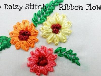 Lazy Daizy Stitch (Ribbon Work Embroidery)