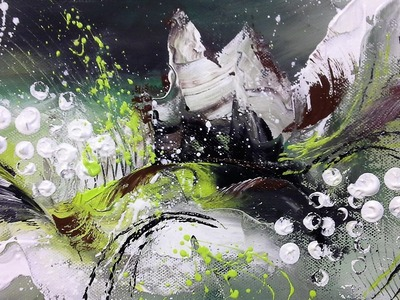Little Fantasy - Einfach Malen - Easy Painting - 10 min. Abstract