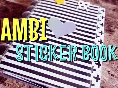 MAMBI STICKER BINDER SET-UP. MAMBI ACCESSORY STORAGE