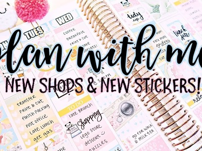 Plan With Me - Exploring New Shops and Stickers!
