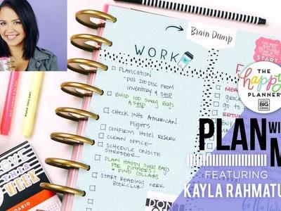 Plan With Me!. Feat: Kayla Rahmatulla!