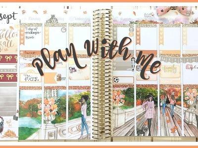Plan With Me! Hello Fall | Erin Condren Planner