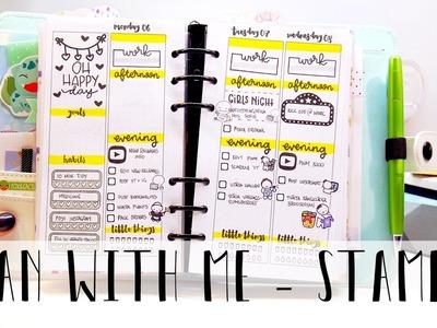 Plan with Me. Kikki.K Medium. Stamps and pens!