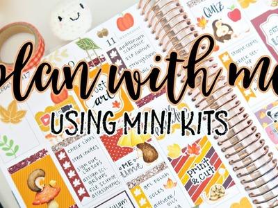 Plan With Me: Using a Mini Kit