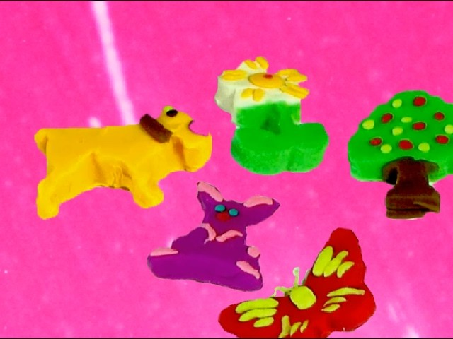 Play and Learn Animals with Play Dough Fun & Creative for Kids Toddler Children | Baby Toy