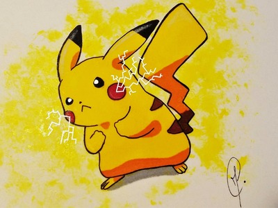 Pokemon Pikachu - Draw and Color