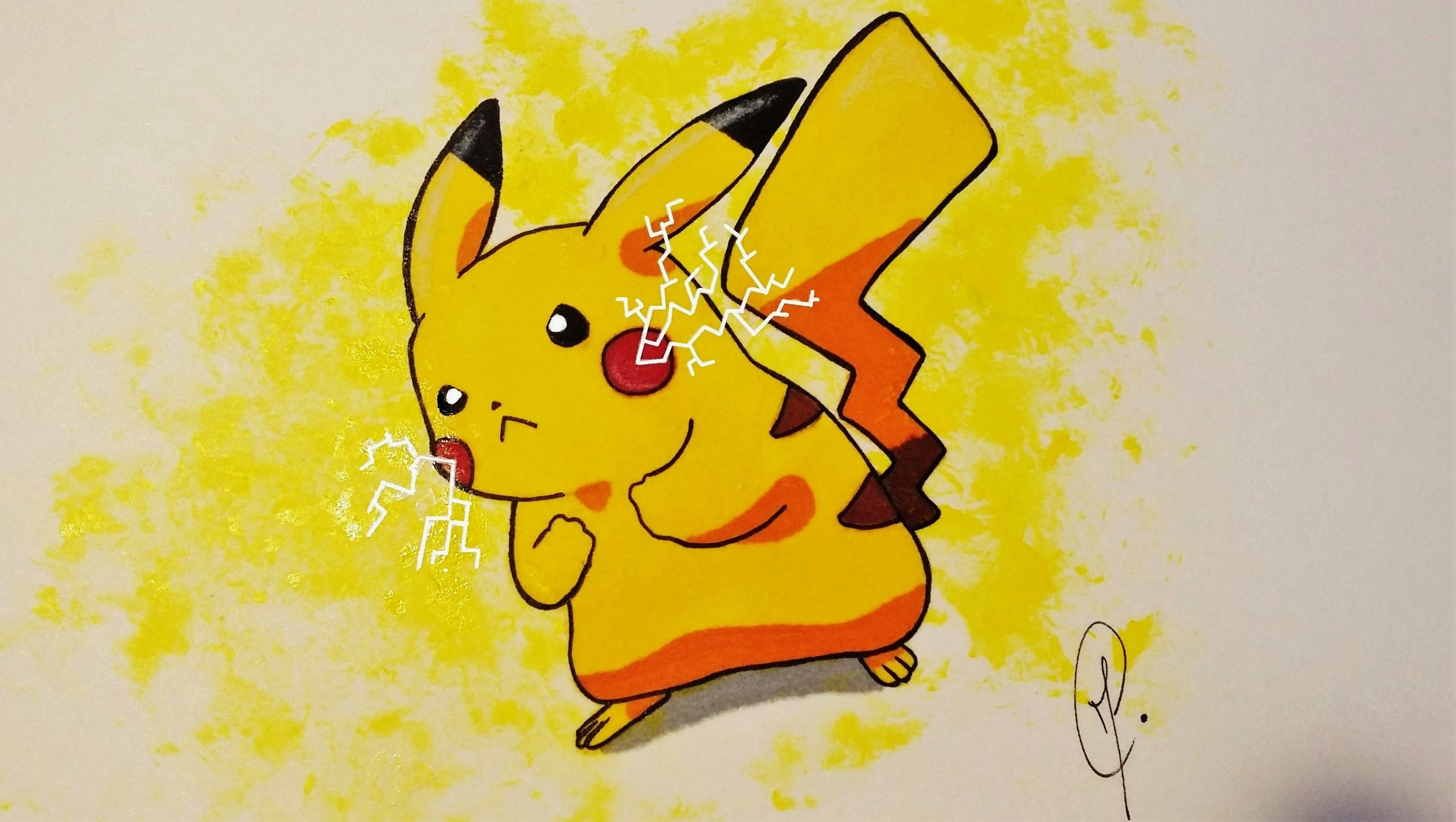 pokemon pikachu draw and color my crafts and diy projects