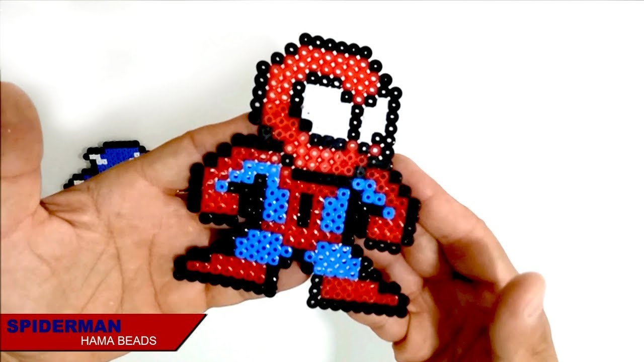 Hama Beads Spiderman: Spiderman Hama Beads, PixelArt Factory