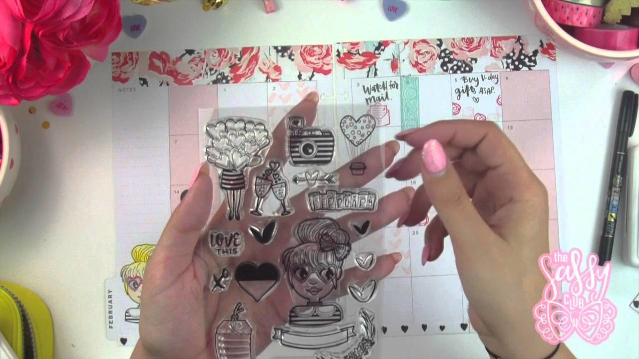 The Happy Planner | Plan with me | Valentine's Edition