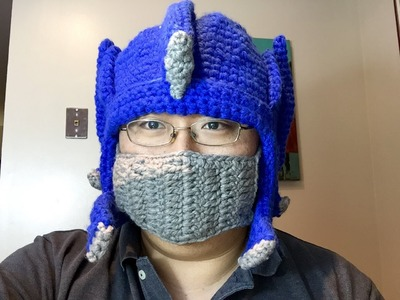 Transformers Autobots Optimus Prime Knit Winter Hat