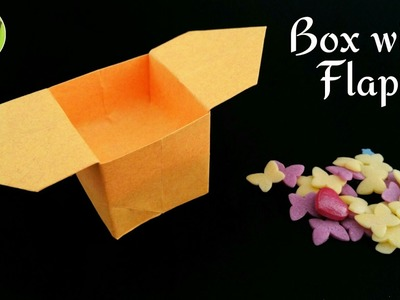 Box with Flaps - DIY Tutorial by Paper Folds - 714