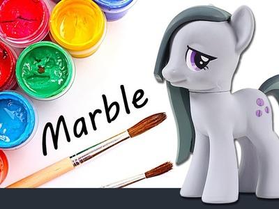 CUSTOM My Little Pony MARBLE PIE Tutorial MLP Toy Figure DIY | SweetTreatsPonies