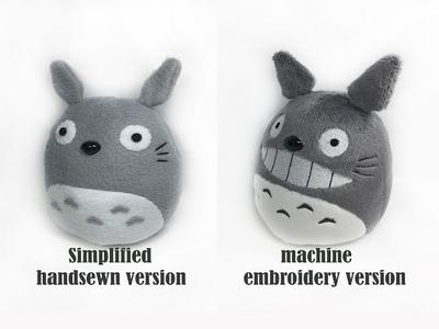 D.I.Y- Easy Totoro Plushie Tutorial