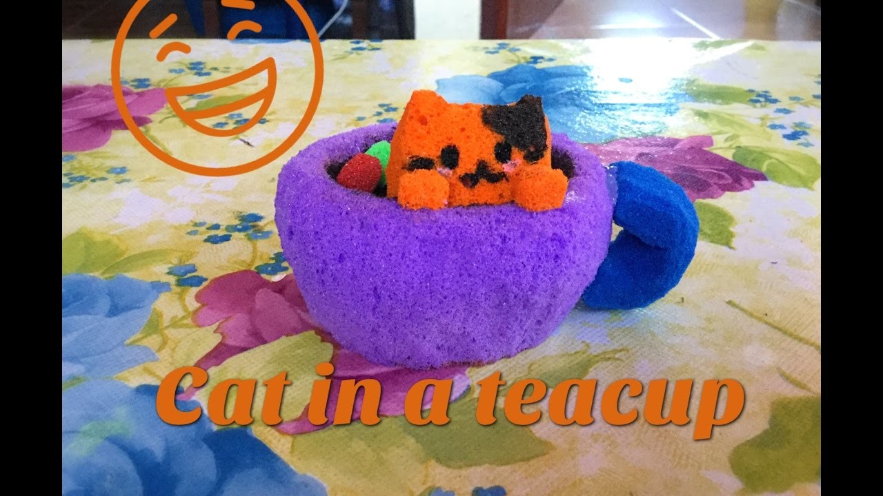 crafts that sell diy cat in a teacup squishy tutorial 1772