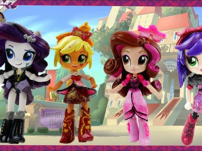 DIY Compilation - Ever After High Custom My Little Pony Equestria Girls Minis Doll Tutorials