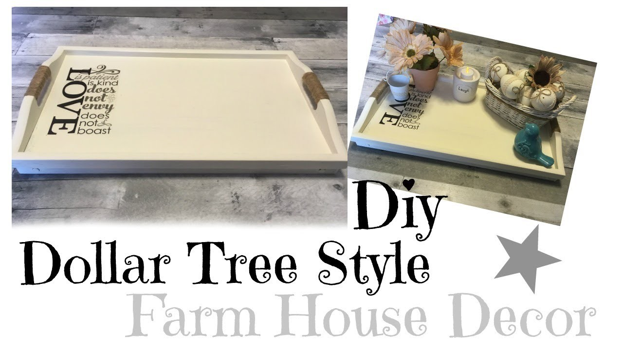 Diy Dollar Tree Farm House Decor My Crafts And Diy Projects