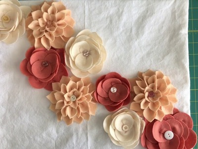 DIY Felt Flower Tutorial