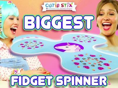 DIY Fidget Spinner! | How To Wow Show | Official Cutie Stix