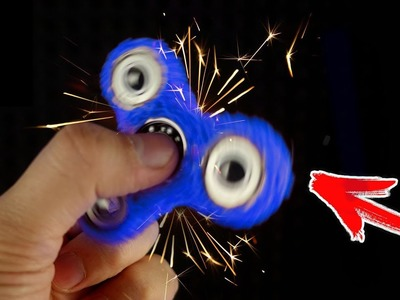 DIY Fidget Spinners with 3D PEN!!! FIDGET TOY