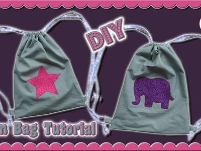 DIY   Gym Bag • EASY step by step tutorial • Sami Doll Tutorials