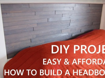 DIY How To Make a Headboard | Easy Build