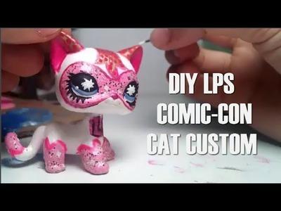 DIY - lps Custom Tutorial: Comic-con Cat ~ Step by Step ~ HelloStudios