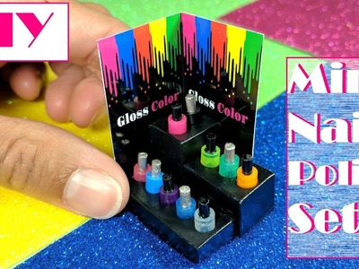 DIY Miniature Doll Nail Polish Set