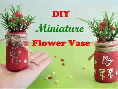 DIY Miniature Flower Vase | Cute Desk Decoration Craft Ideas