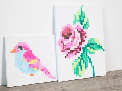 DIY : Paint artwork for your home by Søstrene Grene